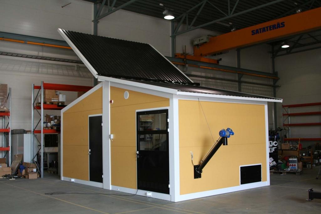 Komplett värmecentral