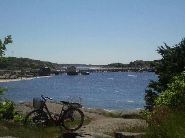 Cykel-på-västkusten