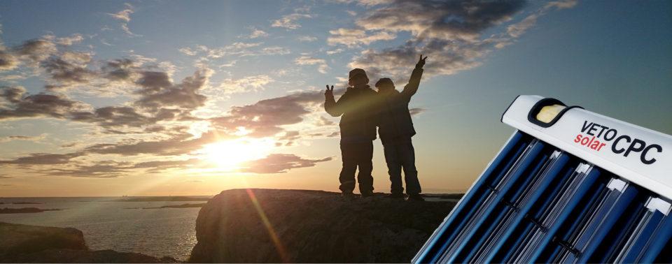 Solfångare solpaneler solvärme