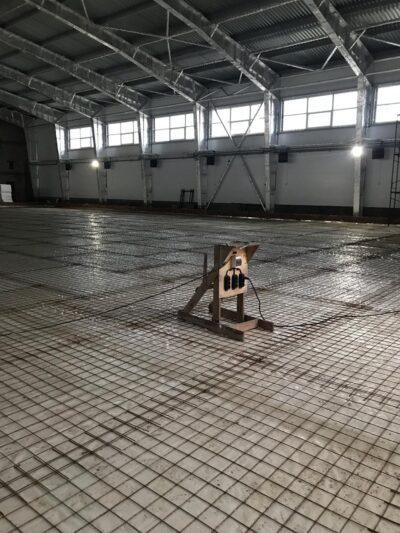Aerotemprar, uppvärmning industrihall