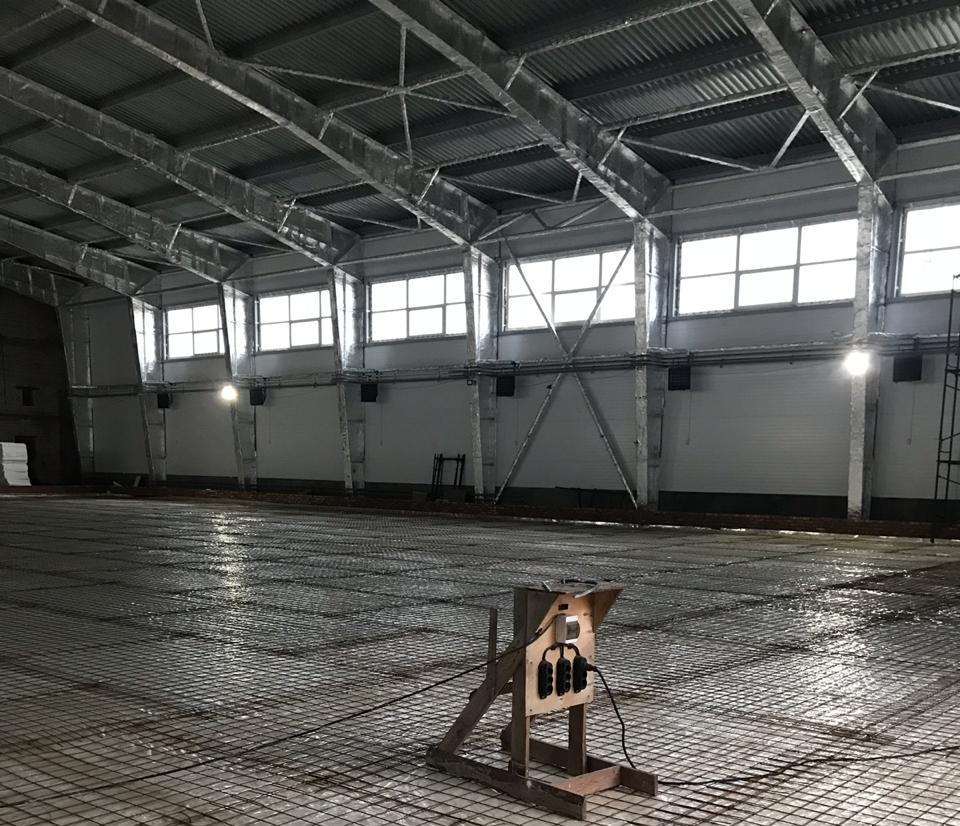 Fläktluftvärmare, Aerotemprar i industribyggnad