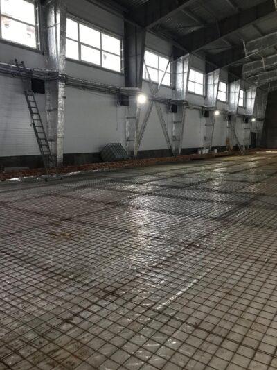 Fläktluftvärme till industribyggnad