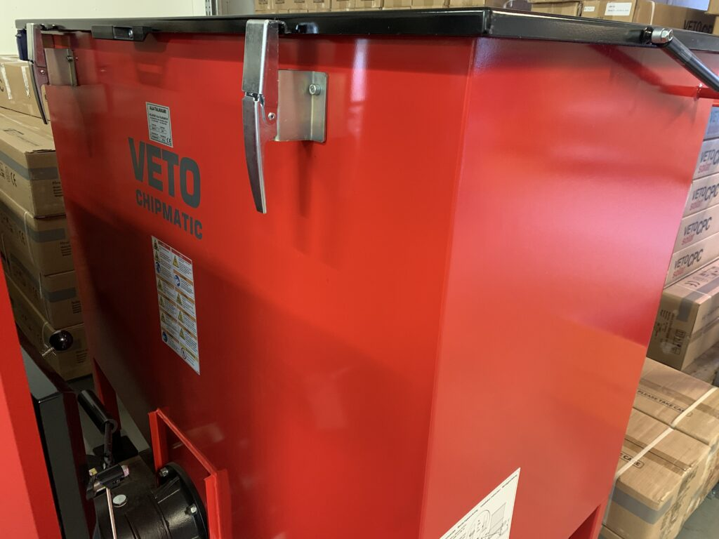 Veto flisbrännare 60 kW